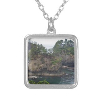 Cape Flattery Silver Plated Necklace