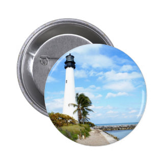 Cape Florida Lighthouse 2 Inch Round Button