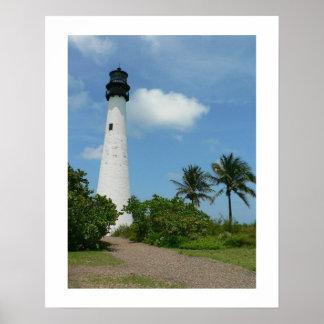 Cape Florida Lighthouse II Poster