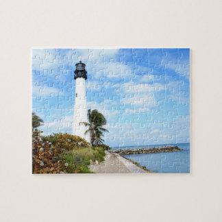 Cape Florida Lighthouse Jigsaw Puzzle