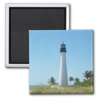Cape Florida Lighthouse Magnet