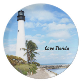 Cape Florida Lighthouse Plate