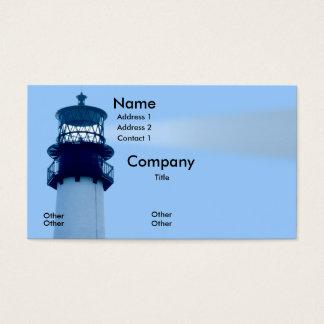 Cape Florida Lightwouse Business Card