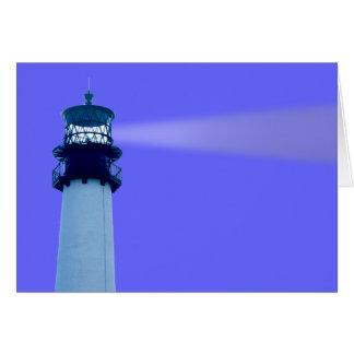 Cape Florida Lightwouse Card