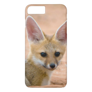 Cape Fox (Vulpes Chama) Pup Peers Inquisitively iPhone 7 Plus Case