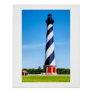 Cape Hatteras Lighthouse -- Art Poster