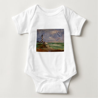 Cape Hatteras Lighthouse Baby Bodysuit