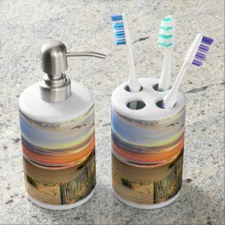 Cape Hatteras Lighthouse Bath Set