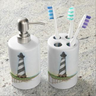 Cape Hatteras Lighthouse Bathroom Despenser Set