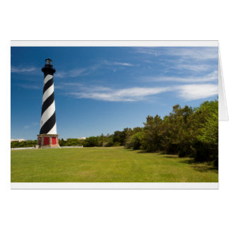 cape hatteras lighthouse card