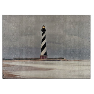 CAPE HATTERAS LIGHTHOUSE CUTTING BOARD