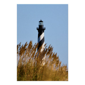 Cape Hatteras Lighthouse - Dune View Poster