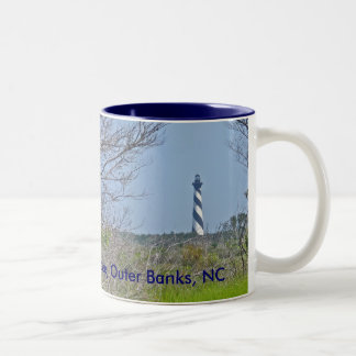 Cape Hatteras Lighthouse from Wetlands Series Coffee Mugs