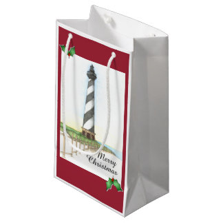 Cape Hatteras Lighthouse Holiday Gift Bag