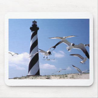 Cape Hatteras Lighthouse North Carolina lighthouse Mouse Pad