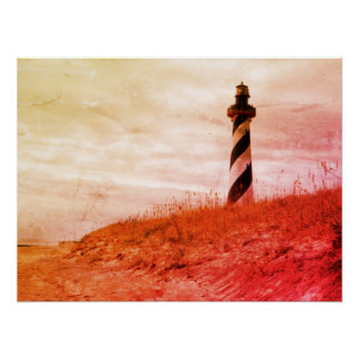 Cape Hatteras Lighthouse Perfect Poster