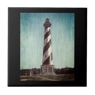 Cape Hatteras Lighthouse Tile