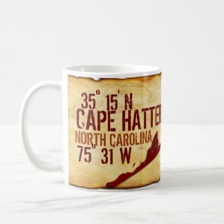 Cape Hatteras, NC Outer Banks Classic White Coffee Mug