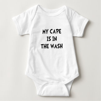 Cape In Wash Baby Bodysuit