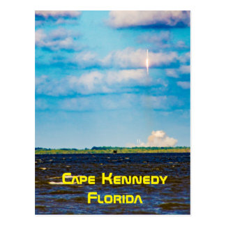 Cape Kennedy Florida Post Card