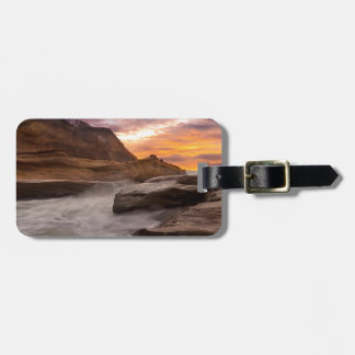 Cape Kiwanda Sunset Luggage Tag