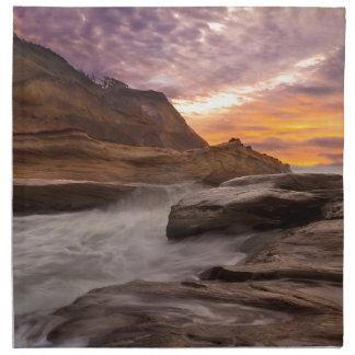 Cape Kiwanda Sunset Napkin