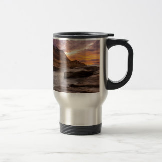 Cape Kiwanda Sunset Travel Mug