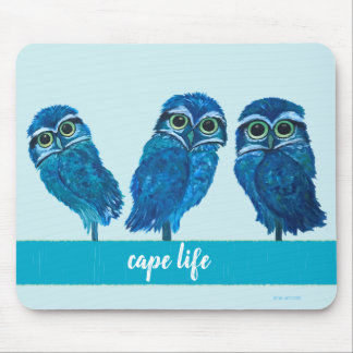 Cape Life Burrowing Owl Cape Coral FL Mouse Pad