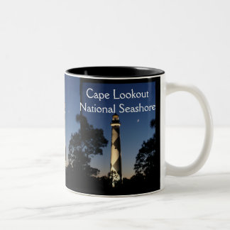 Cape Lookout LIghthouse Mug