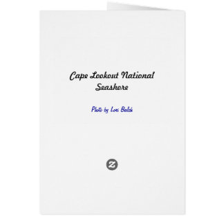 Cape Lookout National Seashore Card