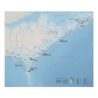 Cape Lookout National Seashore Poster