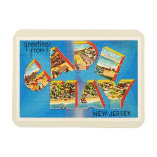Cape May #2 New Jersey NJ Vintage Travel Postcard- Magnet