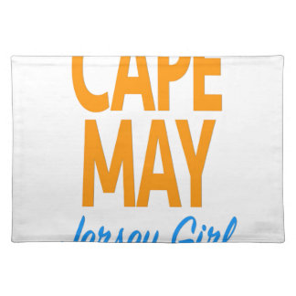 cape may jersey girl.jpg cloth place mat