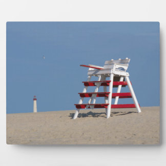 Cape May lifeguard chair Plaque