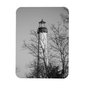 Cape May Light b/w Magnet