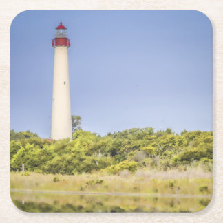Cape May Lighthouse Coasters