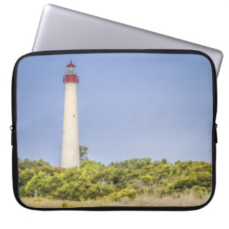 Cape May Lighthouse Laptop Sleeve