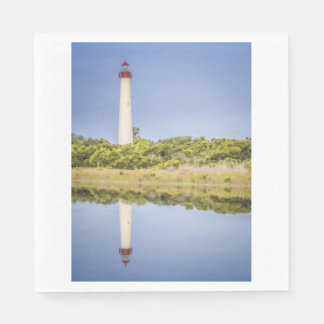 Cape May Lighthouse Napkins Paper Napkin