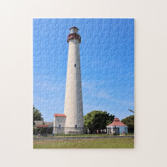 Cape May Lighthouse, New Jersey Jigsaw Puzzle