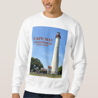 Cape May Lighthouse, New Jersey Sweatshirt
