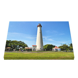 Cape May Lighthouse, New Jersey Wrapped Canvas
