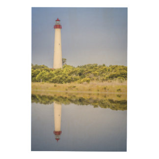 Cape May Lighthouse Wood Wall Art Wood Prints