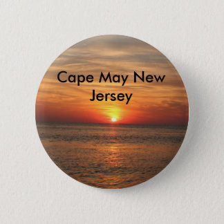 Cape May New Jersey 2 Inch Round Button