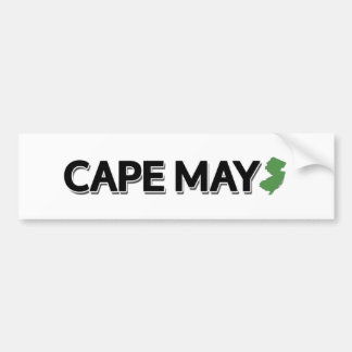 Cape May, New Jersey Bumper Sticker