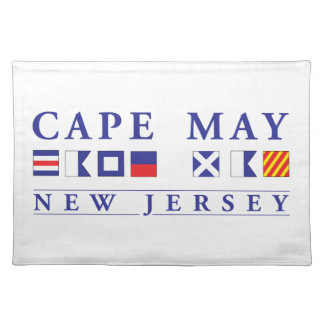 Cape May New Jersey Cloth Placemat