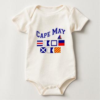 Cape May, NJ - 2 Baby Bodysuit