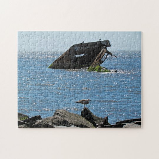 Cape May Shipwreck Jigsaw Puzzle