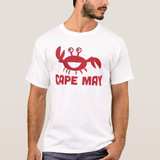 Cape May T-shirt - Funny Red Crab