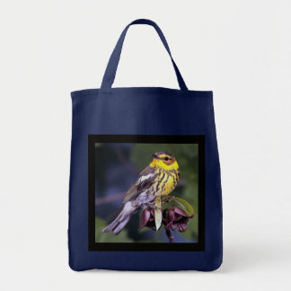 Cape May Warbler Birds Tote Bag