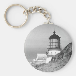 Cape Mendocino Lighthouse Keychain